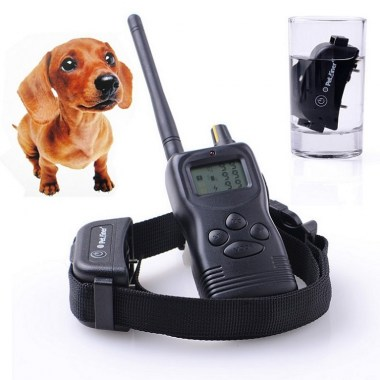 2013-New-Vision-1pcs-1dog-1000M-Remote-Tone-Vibrating-Static-Dog-Training-Collar-Waterproof-and-Rechargeable