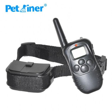300M Remote Control 100LV Shock + Vibra Electric Dog Training Collar for dogs 998D-1